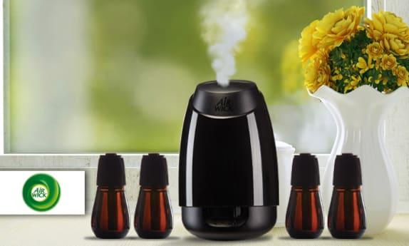 מפזר ריח אוטומטי ו-4 מילויים