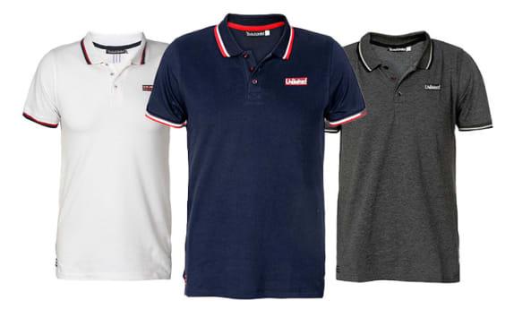 מארז 3 חולצות פולו לגברים