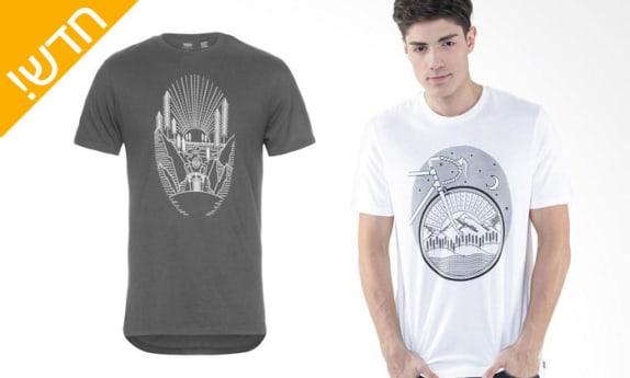 ארבע חולצות כותנה לגבר Levi's