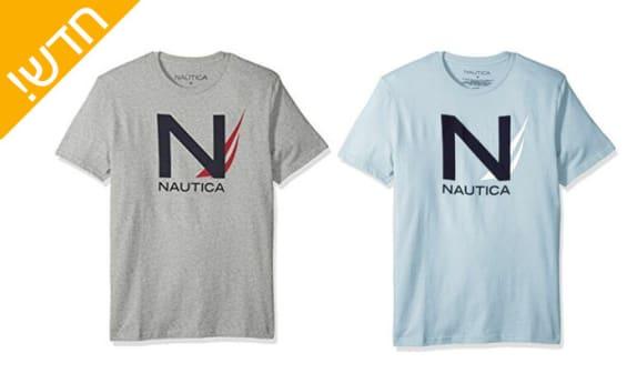 4 חולצות טי שרט לגבר NAUTICA