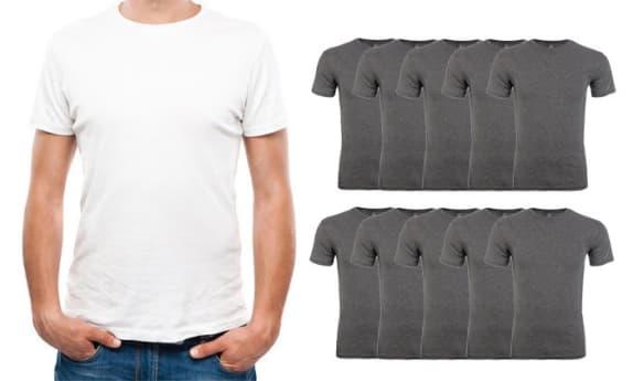 10 חולצות טי שירט לגברים