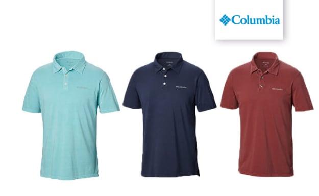 חולצה קצרה לגברים Columbia