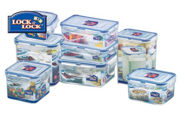 8 קופסאות אחסון מזון Lock&Lock
