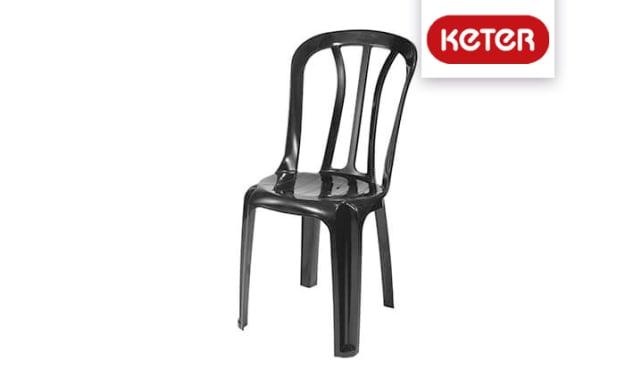 שישיית כיסאות פלסטיק כתר