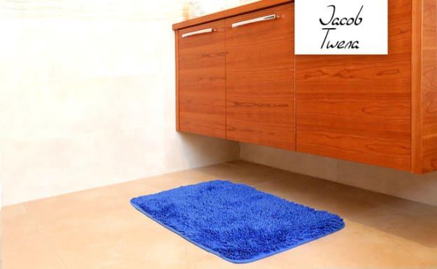 3 שטיחי אמבט שאגי