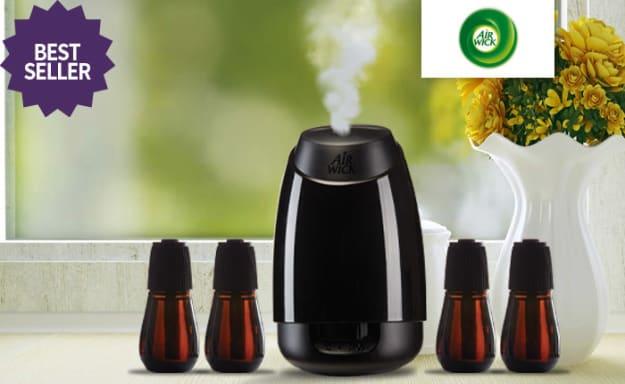 מפיץ ריח אוטומטי ו-4 מילויים