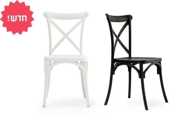 כיסא מפלסטיק לפינת אוכל