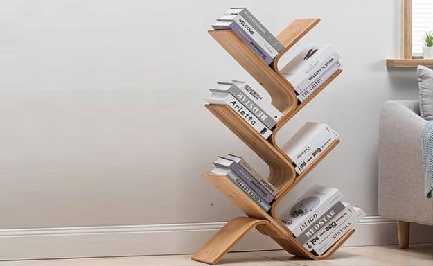מעמד ספרים מבמבוק במבחר דגמים