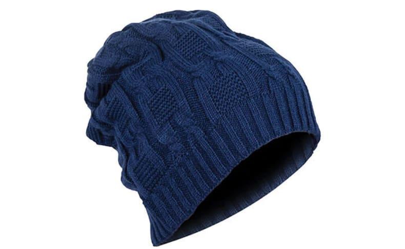 כובע צמר עם אוזניות מובנות