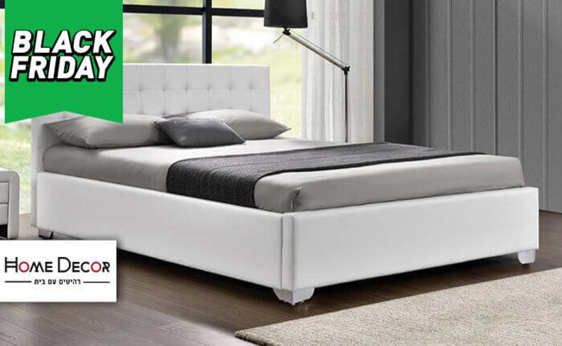 מיטה זוגית דגם לורי HOME DECOR