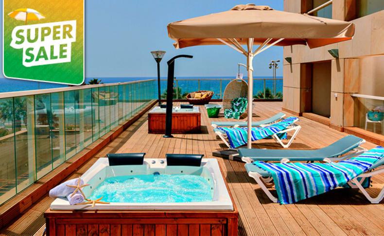יום פינוק במלון לאונרדו בת ים