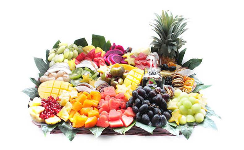 מגשי פירות אקזוטיים