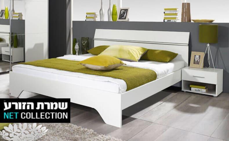 מיטה זוגית ו-2 שידות אורבניקה