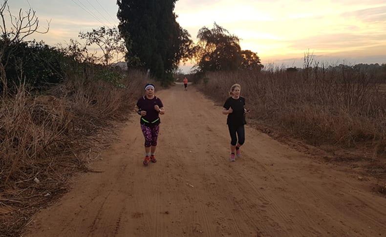 2 אימוני ריצה בקבוצה - אור דלח