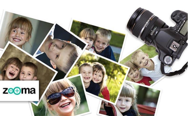 הדפסת 200 תמונות באתר ZOOMA