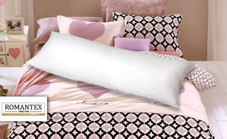כרית שינה ארוכה כוללת ציפית