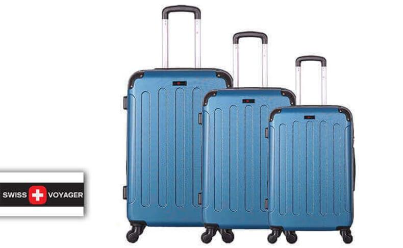 סט מזוודות קשיחותSWISS LONDON