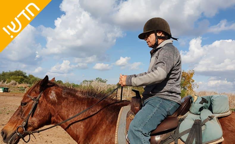 ייעוץ ורכיבה טיפולית על סוסים