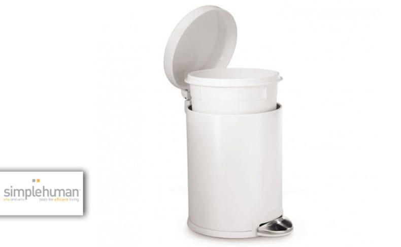 פח דוושה 30 ליטר SIMPLEHUMAN