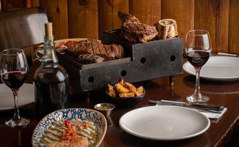 ארוחת פרימיום זוגית ב'רק בשר'