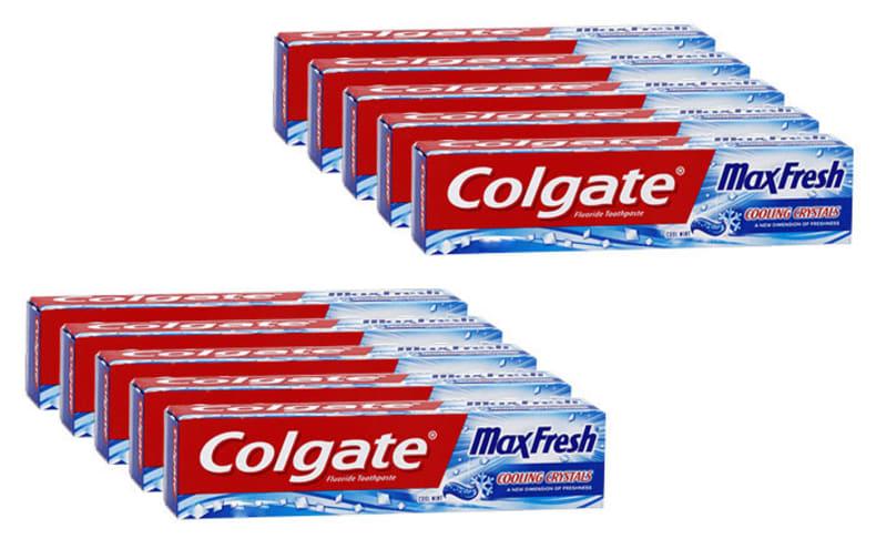 10 משחות שיניים קולגייט