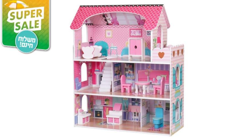 בית בובות מעץ, דגם אלה