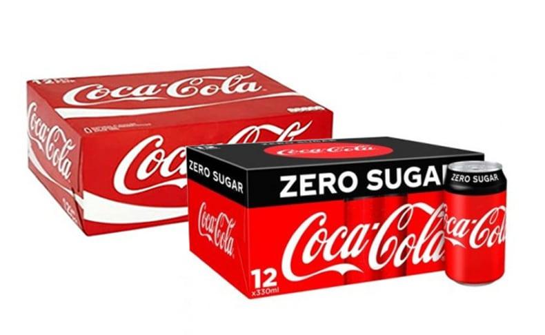 48 פחיות ממשפחת קוקה קולה