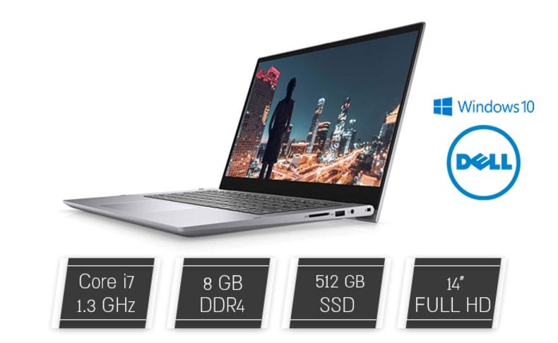 מחשב נייד DELL עם מסך מגע ''14
