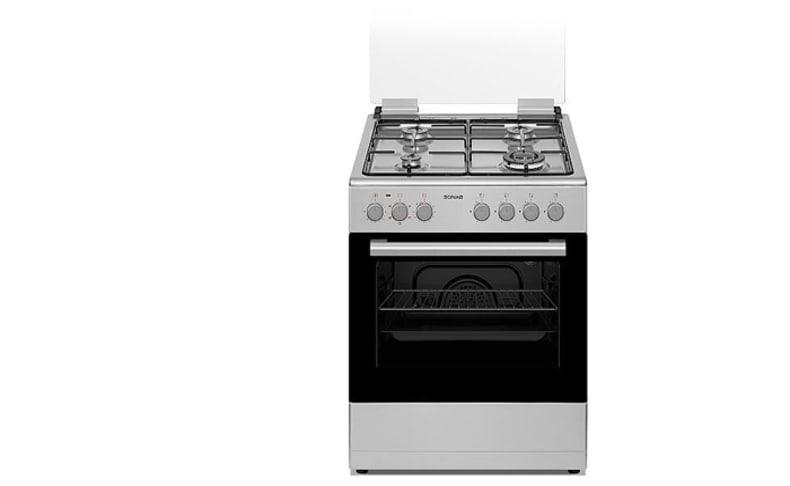 תנור משולב כיריים 60 ס